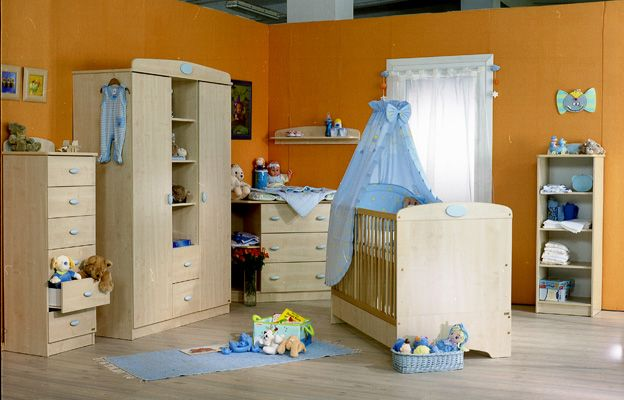 Nelli light blue nursery
