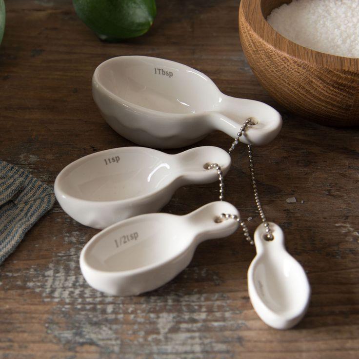 Ceramic Measuring Spoons