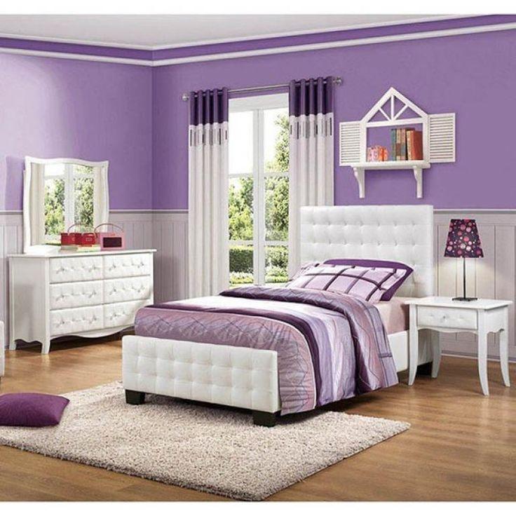 charming purple bedroom ideas for teenage girl  girls