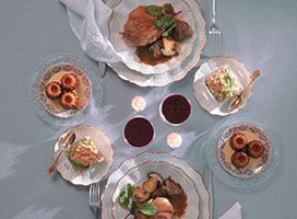 plats cuisinés et plats individuels