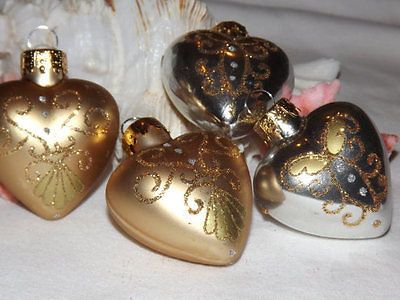 22 best Heart Shaped Christmas Ornaments images on Pinterest