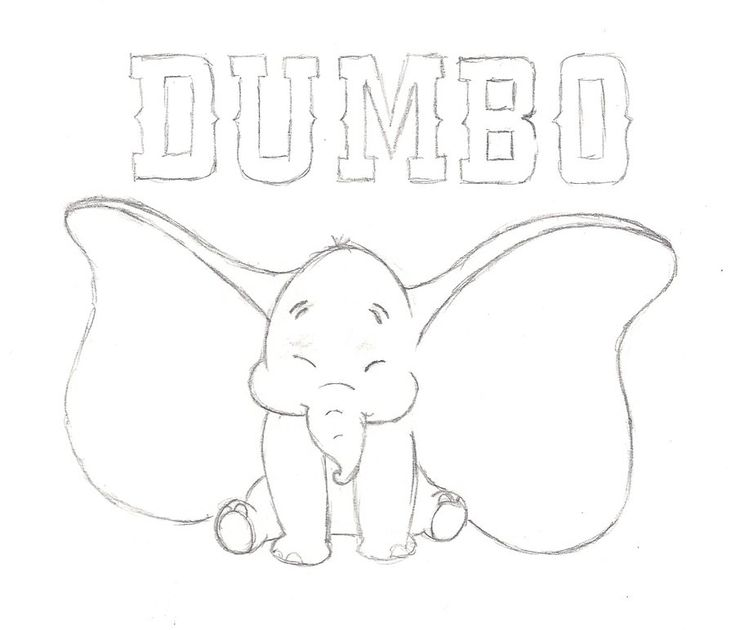 Images of Disney Dumbo Drawings - #SpaceHero