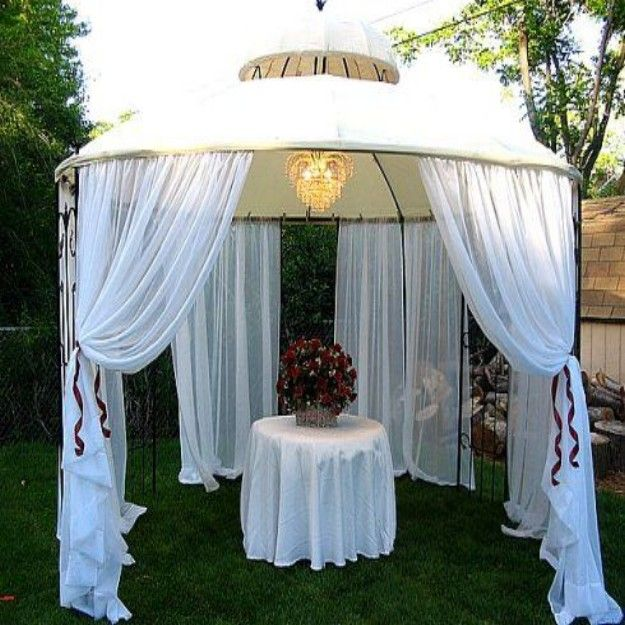 Outdoor Weddings Do Yourself Ideas: Best 25+ Backyard Gazebo Ideas On Pinterest