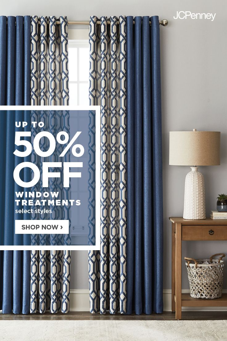 Jcpenney Is The Window Authority Update Your Space With Up To 50