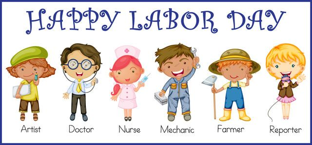 Great Clip Art For Labor Day: Labor Day Kids