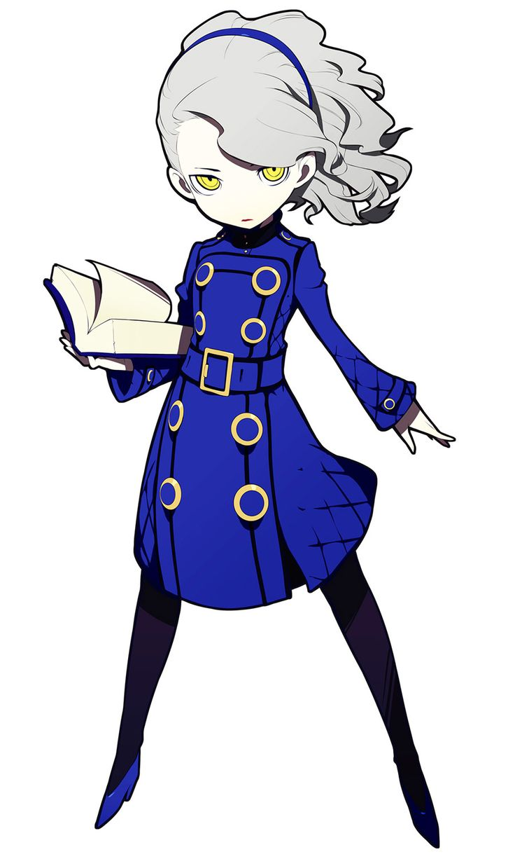 Margaret from Persona Q: Shadow of the Labyrinth