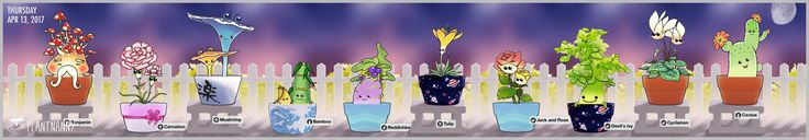 Cheeeeeese~~! Check out my lovely garden! Get yourself a plant at http://fourdesire.com/outer_link?url=http://itunes.apple.com/app/id590216134&l=en_US&m=58F04C05
