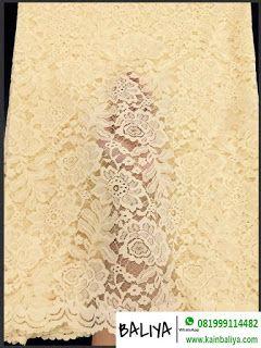 jual kebaya semi prancis warna krem WA/Hp 081999114482 (XL) - kebaya bali asli