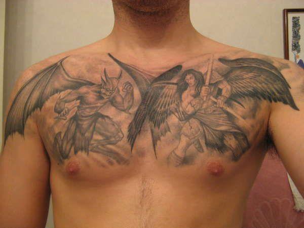 Best 25+ Devil Tattoo Ideas On Pinterest
