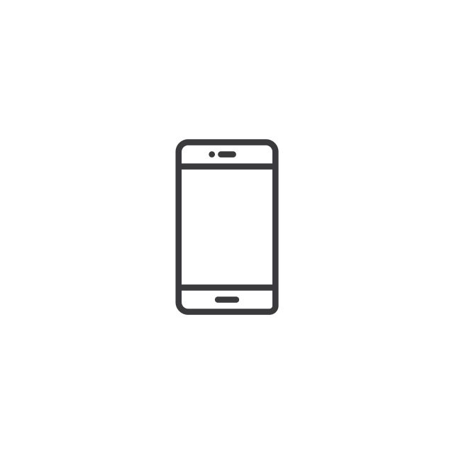 Mobile Phone Icon Line Style Vector Illustration Vector And Png Phone Icon Phone Logo Mobile Phone