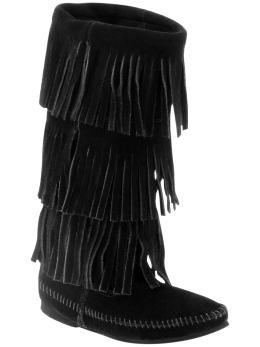 LOVE these so much i could live in em'... but i live in FL  Minnetonka Moccasin 3-layer fringe