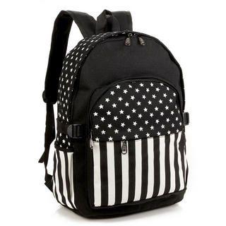 Miss Sweety - Stripe & Star-Print Backpack