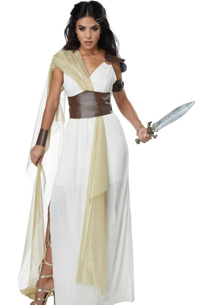 Spartan Warrior Queen Costume Dress Greek Goddess Adult Womens Toga   CaliforniaCostumeCollections  CompleteOutfit 2a6318fd5