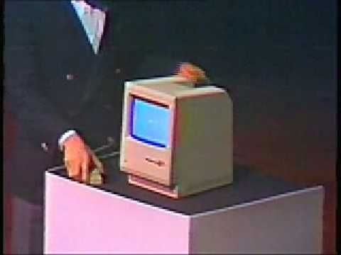 """The Lost 1984 Video: young Steve Jobs introduces the Macintosh"""" — The Original 1984 Macintosh Introduction"""