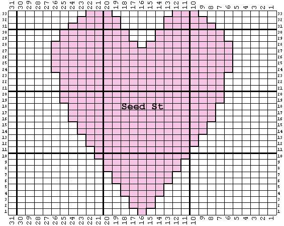 Bumpy Love Chart K1P1...Patterns Pinterest Knitting, Knitting patterns ...