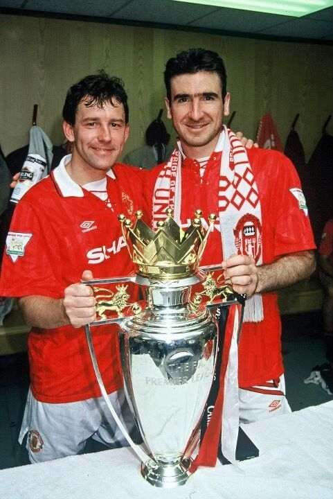 Bryan Robson & Eric Cantona, Manchester United