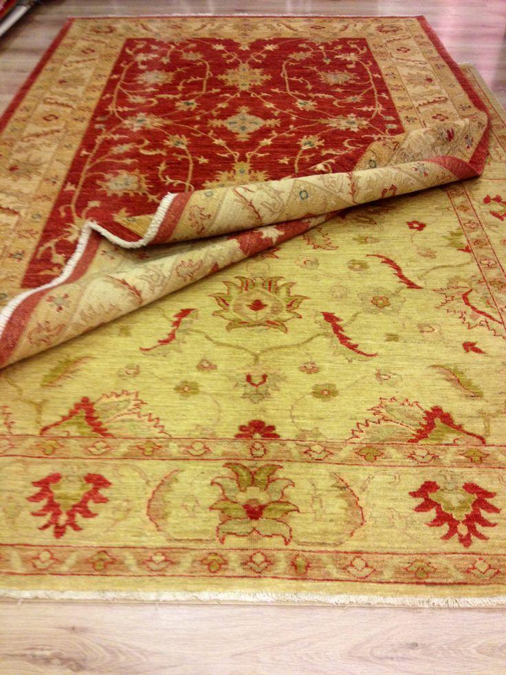 Ziegler carpets ... Red or beige...??
