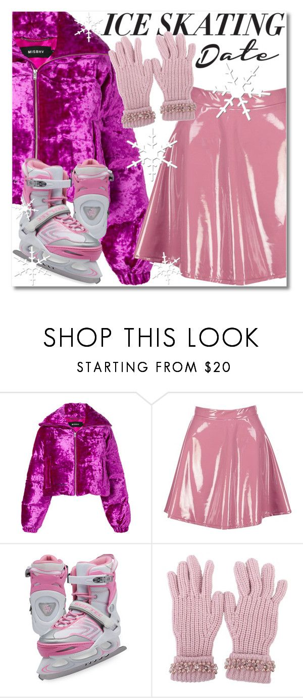 """""""Skate Date: Ice Skating Outfit"""" by oliverab ❤ liked on Polyvore featuring MISBHV, Boohoo, Jackson Ultima, Blugirl and iceskatingoutfit"""