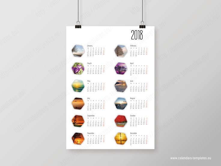 Best Poster Calendars Images On   Self Calendar