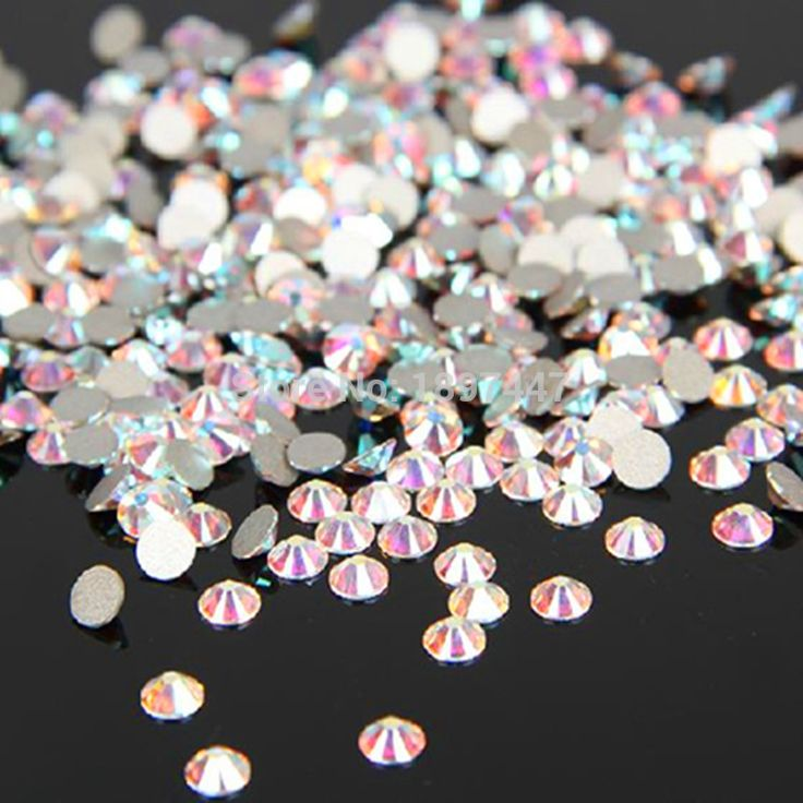 1440PCS/Pack SS3 SS40 Glass Flatback Rhinestones Crystal Clear non hotfix rhinestone AB 3D Nail Art Decorations Glitter Gem-in Rhinestones & Decorations from Health & Beauty on Aliexpress.com | Alibaba Group