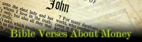 Bible Verses About Money: What Does the Bible Say About Money, Finance and Wealth