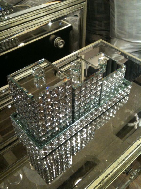 Bling Bathroom Accessories