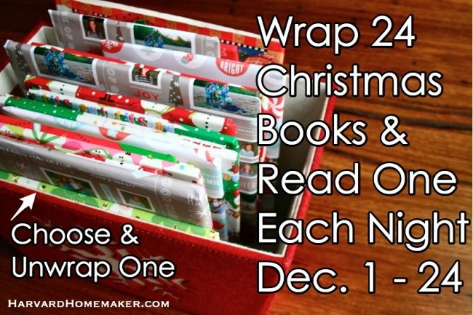 24 Special Christmas Books: Wrap Them & Read One Each Night - Harvard Homemaker