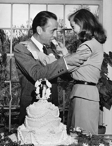 Humphre Bogart y Lauren Bacall
