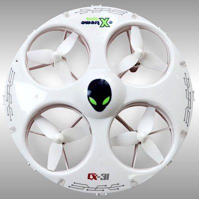 Cheerson CX - 31 Headless Mode 2.4G 4CH RC Quadcopter 3D Stunt 6 Axis Gyro Aircraft #drone