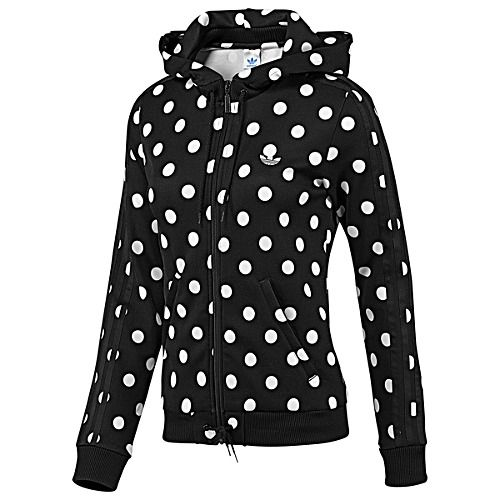 Women's adidas Originals Hooded Flock Track Top- I want this so much!