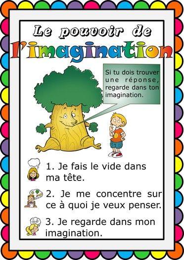 Affiche attentix-le pouvoir de l'imagination