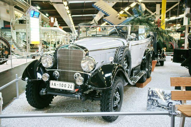 https://flic.kr/p/wqkuEi | Mercedes-Benz G4 1938 17.7.2015 2251 | Mercedes-Benz Germany Technikmuseum Sinsheim Germany