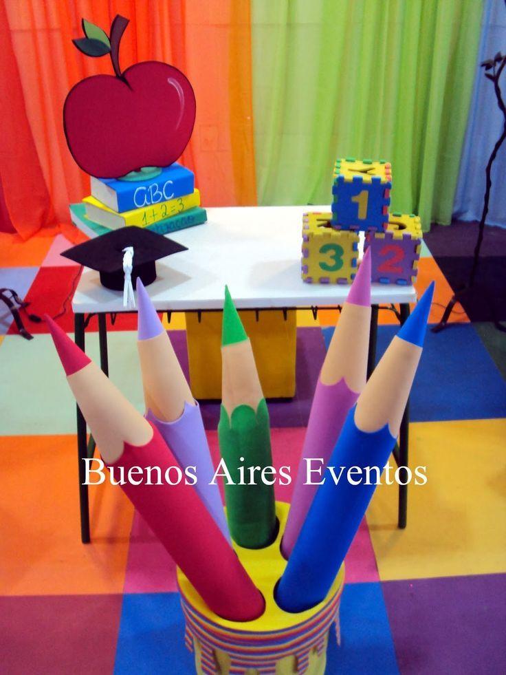 Buenos Aires Events: Abschlussdekoration für ABC