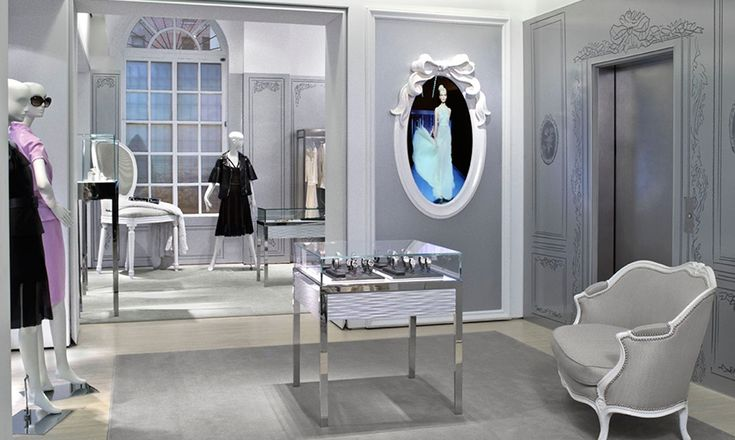 Store Layout, Christian Dior Temporary Store, Christian Dior Couture, Gensler
