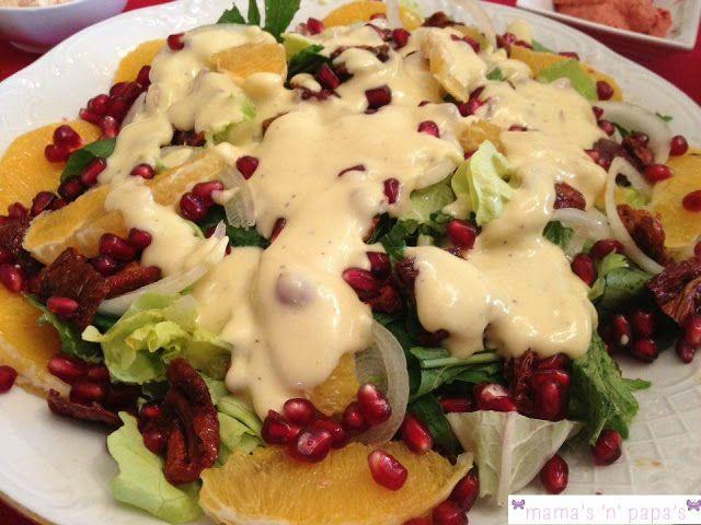 mamasnpapas.gr: {Ιδέες για Χριστουγεννιάτικη σαλάτα} - *Στολίδι γι...