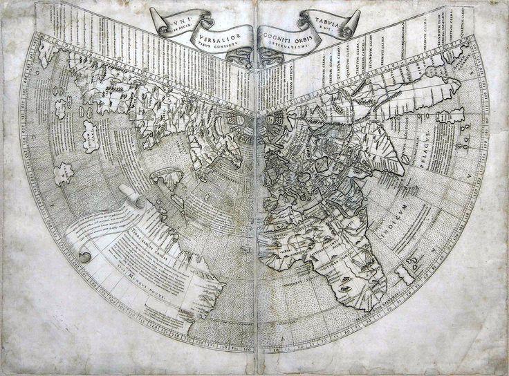 Johannes Ruysch's Map of the World (1508).