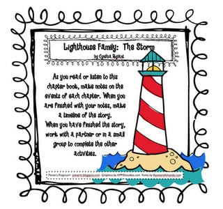 LA - Character Study~Note Taking~Timeline -- Lighthouse Family: The Storm by: Cynthia Rylant - Text Exemplar - Pitner's Potpourri Freebie