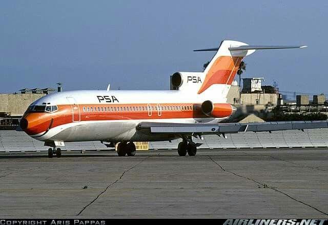 PSA Boeing 727-200