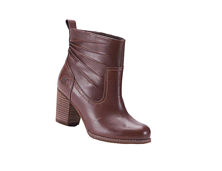 Timberland Rudston Wmns Boots Halbstiefel Damen Braun Leder Gr.37,5 - 41 Neu in Kleidung