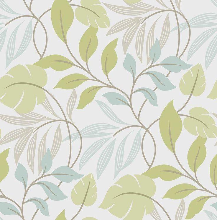 brewster wallpaper nu1657 blue and green meadow peel u0026 stick