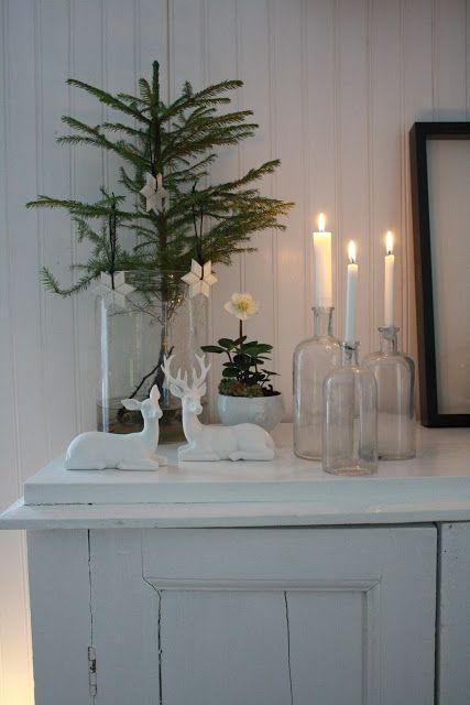 Bland betong och gammeldags pioner: God Jul / Christmas deco