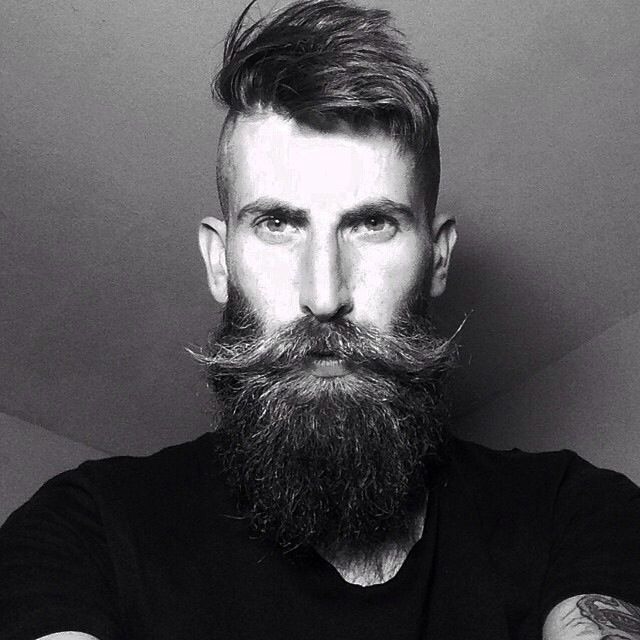 Cool 1000 Images About Manly Beards On Pinterest Short Hairstyles Gunalazisus