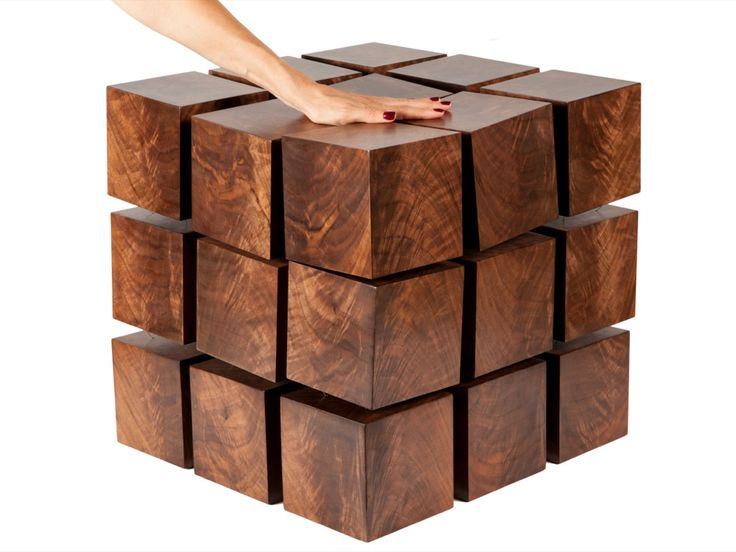 Float Side Table By Rock Paper Robot // The Float Table Is A Matrix Of   Awesome Design