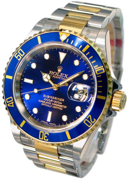 Rolex Submariner Blue.