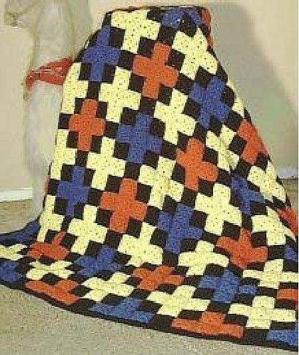 98 best Crochet Quilts images on Pinterest | Knit blankets ... : free crochet quilt patterns - Adamdwight.com