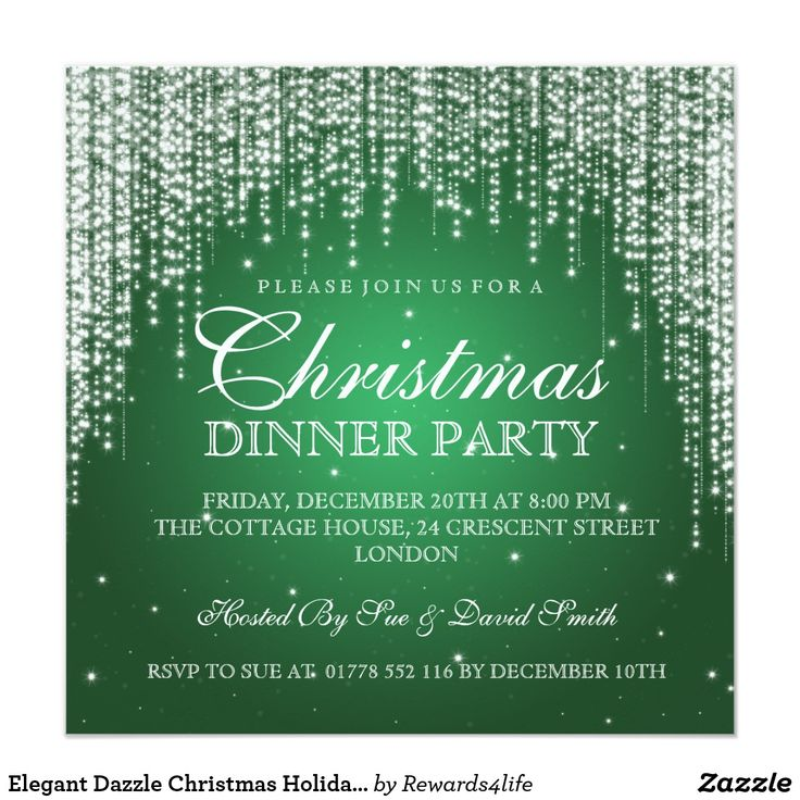 The 25+ best Holiday party invitation template ideas on Pinterest - christmas dinner invitation template free