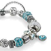 PANDORA!!!!: Pandora Beads, Idea, Style, Blue, Pandora Bracelets, Jewelry, Evil Eye