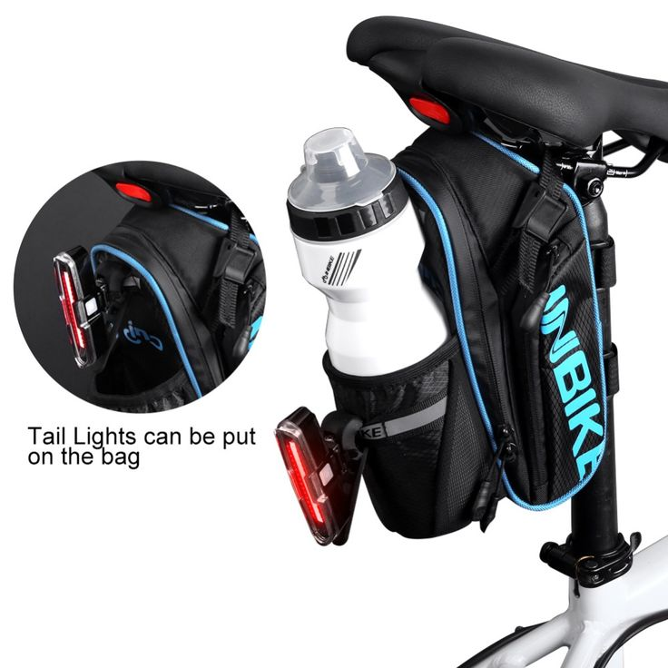 INBIKE Bicycle Saddle Bag With Water Bottle Pocket Waterproof MTB Bike Rear Bags Cycling Rear Seat Tail Bag SX510 ** AliExpress Affiliate's Pin.  Click the VISIT button to view the details on AliExpress website