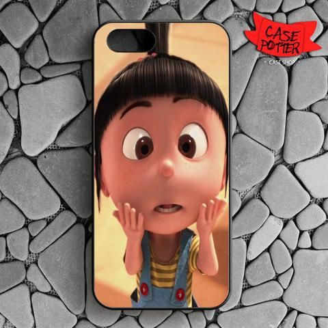 Agnes Shock iPhone SE Black Case