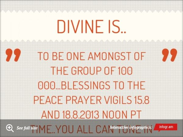 Divine is..